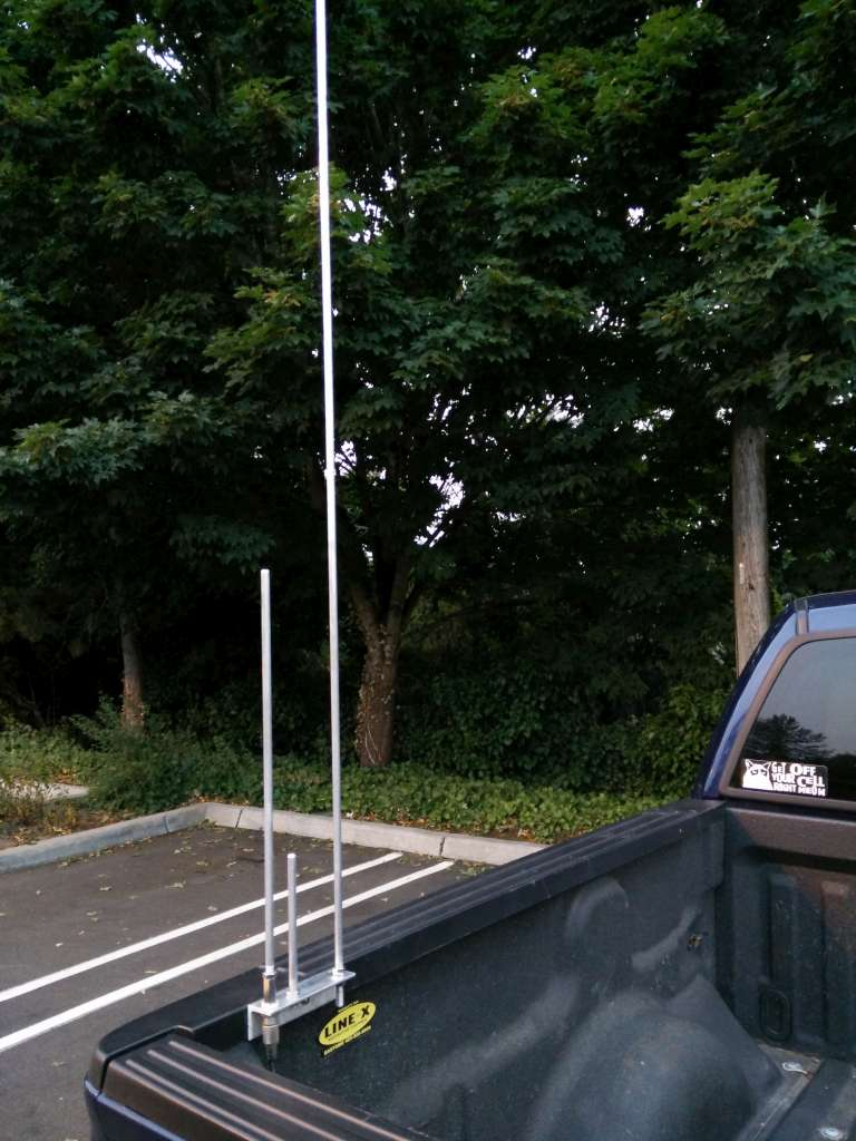 Mobile Truck Bed Mount